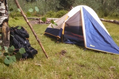 Camping at horse head.